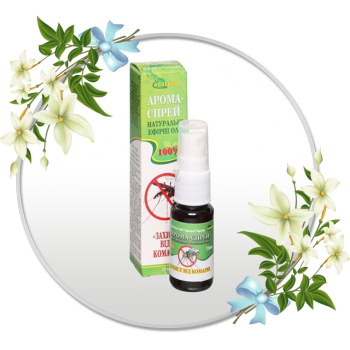 Арома-спрей з натуральних ефірних олій «Захист від комарів»
