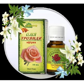 Ефірна олія троянди