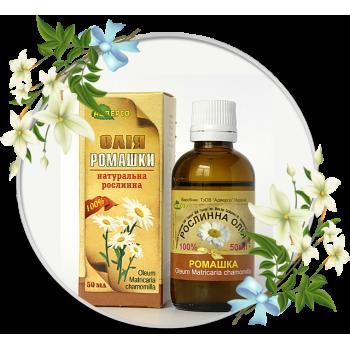 Рослинна олія ромашки