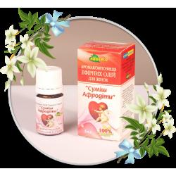 Essential Oils Aroma Composition for Women «Aphrodite Mixture»