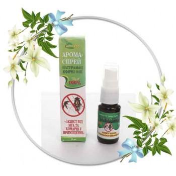 """Арома-спрей з натуральних ефірних олій """"Захист від мух та комарів у приміщенні"""" 15мл"""
