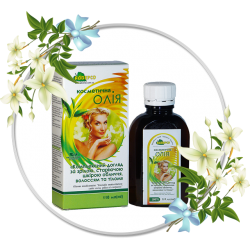 Cosmetic oil «Comprehensive care for face skin, hair and body»